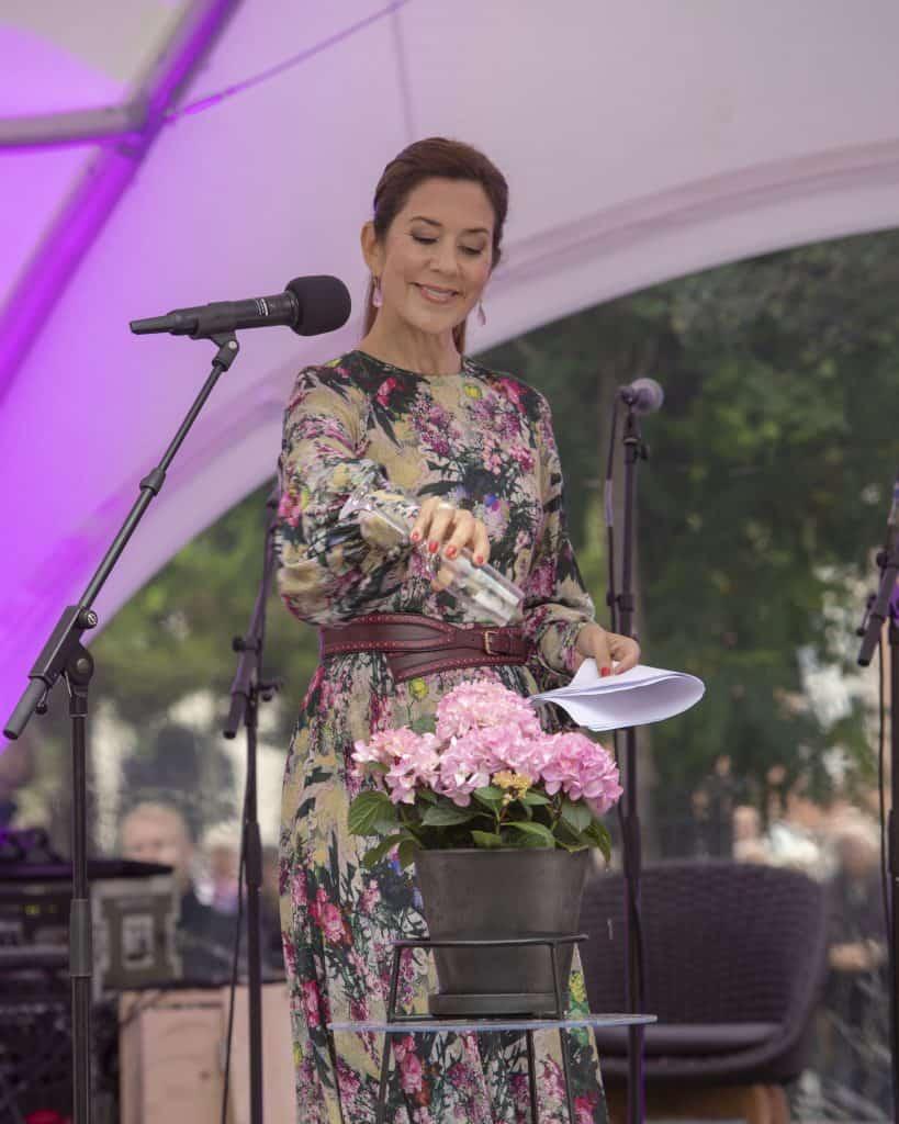 hortensia navngivning kronprinsesse mary